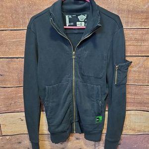 Men's Diesel Full Zip Sweatshirt w/ Hoodie Size S